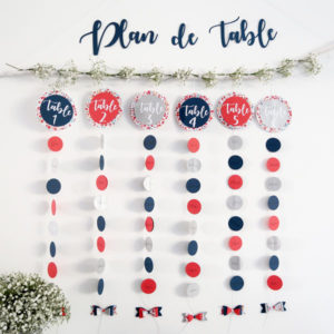 Plan de table - Liberty
