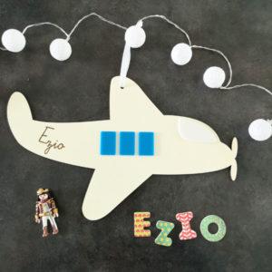 Avion en bois et plexi - Ezio
