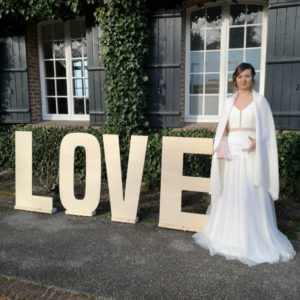 Lettre Love XXL