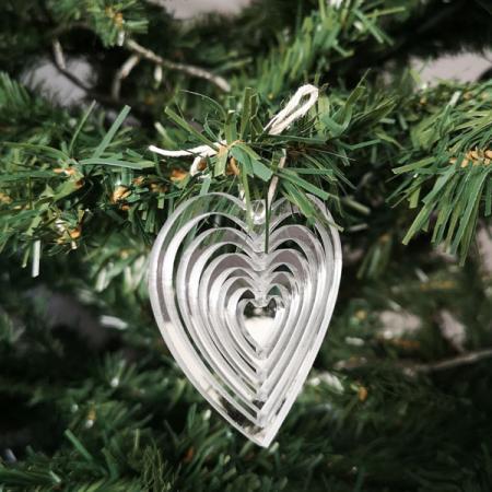 Déco de Noël_Collection Hypnotique_Plexi argent_Coeur_1_600x600