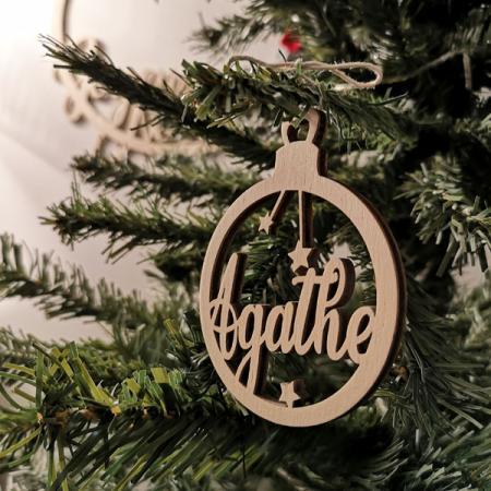 Déco de Noël_Collection Prénom_Bois_Boule_2_600x600
