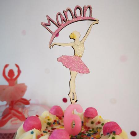 Anniversaire_Topper danseuse personnalisée_600x600_1