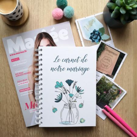 Déco mariage_Le carnet de mon mariage_Couv blanche_600x600