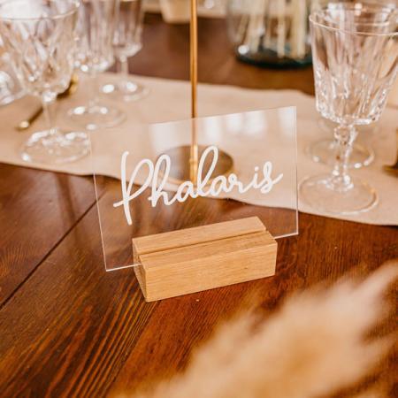 Mariage_Déco_Table de fête_Nom de table_Plexi_600x600_1